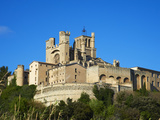 Cathedral Saint-Nazaire, Beziers, Herault, Languedoc, France, Europe Photographic Print by  Tuul