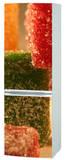 Refrigerateur Pates de Fruit Autocollant mural