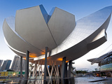Art Science Museum, Marina Bay, Singapore, Southeast Asia, Asia Photographic Print by Gavin Hellier