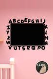 Tableau Ardoise Alphabet Autocollant mural