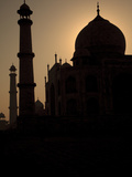 The Sun Rising over the Taj Mahal, UNESCO World Heritage Site, Agra, Uttar Pradesh, India, Asia Photographic Print by Stuart Keasley