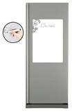Refrigerateur Course 2 - Velleda Muursticker