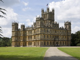 Highclere Castle, Home of Earl of Carnarvon, Location for BBC's Downton Abbey, Hampshire, England Photographic Print by James Emmerson