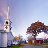 The Congregational Church, Peacham, Vermont, New England, United States of America, North America Photographic Print by Alan Copson