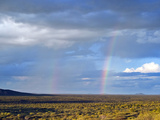 Rainbows, Ongava Game Reserve, Namibia, Africa Photographic Print by Nico Tondini