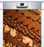 Lave Vaisselle Chocolats Wall Decal