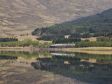 The Jacobite, Fort William to Mallaig Railway, Loch Eil, Lochaber, Scotland, United Kingdom, Europe Photographic Print by Jean Brooks