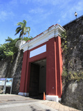 San Juan Gate, Old City Wall, UNESCO World Heritage Site, San Juan, Puerto Rico, USA Photographic Print by Wendy Connett