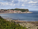 South Bay and Castle Hill from South Cliff Gardens, Scarborough, North Yorkshire, England, UK Photographic Print by Mark Sunderland