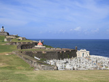 El Morro (Morro Castle), San Felipe, UNESCO World Heritage Site, San Juan, Puerto Rico, USA Photographic Print by Wendy Connett