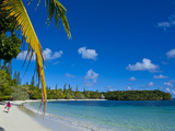 Ile Des Pins, New Caledonia, Melanesia, South Pacific, Pacific Fotografisk tryk af Michael Runkel