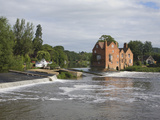 Cropthorne Mill on the River Avon at Fladbury, in the Vale of Evesham, Worcestershire, England, UK Photographic Print by Ian Murray