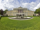 Villa Olmo in Spring Sunshine, Lake Como, Lombardy, Italian Lakes, Italy, Europe Photographic Print by Peter Barritt