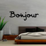 Bonjour Wall Decal