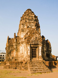 Stupa at Phra Prang Sam Yot Buddhist Temple, Lopburi, Thailand, Southeast Asia, Asia Photographic Print by Matthew Williams-Ellis