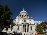 St. Pauls Cathedral, London, England, United Kingdom, Europe Photographic Print by Sara Erith