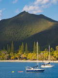 The Bay de Kuto, Ile Des Pins, New Caledonia, Melanesia, South Pacific Photographic Print by Michael Runkel