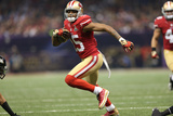 Super Bowl XLVII: Ravens vs 49ers - Michael Crabtree Photographic Print by Ben Liebenberg