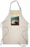Pismo Beach, California - VW Coastal Drive Apron Apron