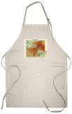 Afghanistan - Panoramic Map - Afghanistan Apron Apron
