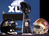 Super Bowl XLVII: Ravens vs 49ers Photographic Print by Patrick Semansky