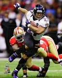 Ray Rice Super Bowl XLVII Action Photo