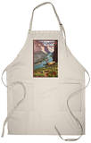 Grand Canyon National Park, Arizona, Deer Scene Apron Apron