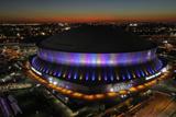 Super Bowl XLVII: Ravens vs 49ers - Superdome Fotografisk trykk av Charlie Riedel