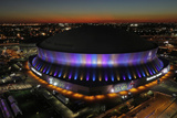 Super Bowl XLVII: Ravens vs 49ers - Superdome Photographic Print by Charlie Riedel