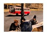 Chess on Market St San Francisco Prints by Markus Bleichner