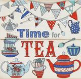 Zeit für Tee Holzschild