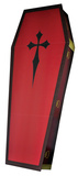 3 Dimensional Coffin Lifesize Cardboard Poster Stand Up