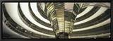 Interiors of a Government Building, the Reichstag, Berlin, Germany Leinwandtransfer mit Rahmung von  Panoramic Images