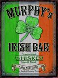 Murphy's Plaque en métal