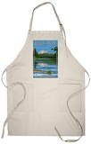 Lassen Peak and Manzanita Lake, c.2009 Apron Apron