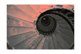 Red Lighthouse Stairs Premium Giclee Print by Martina Bleichner