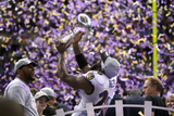 Super Bowl XLVII: Ravens vs 49ers - Ed Reed and Ray Lewis Photographic Print by Ben Liebenberg