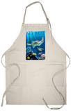 Key West, Florida - Sea Turtles Apron Apron