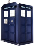 3 Dimensional Lifesize Tardis - Dr Who Cardboard Poster Stand Up
