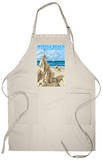 Myrtle Beach, South Carolina - Sandcastle Apron Apron