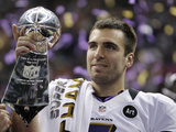 Super Bowl XLVII: Ravens vs 49ers - Joe Flacco Photographic Print by Matt Slocum