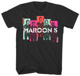 Maroon 5 - Photo Blocks T-shirts
