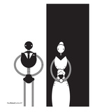The Wedding Premium Giclee Print by Paul Cunha