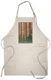 Sequoia National Forest, CA Redwood Trees Apron Apron