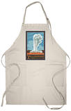 Old Faithful Geyser, Yellowstone National Park, Wyoming Apron Apron