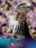 Super Bowl XLVII: Ravens vs 49ers - Ravens Commemorative Photo Fotografisk trykk av Matt Slocum