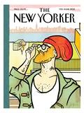 The New Yorker Cover - February 11, 2013 Regular Giclee Print by Simon Greiner
