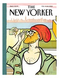 The New Yorker Cover - February 11, 2013 Premium Giclee Print by Simon Greiner
