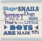 Puppy dogs tails Dřevěná cedule