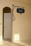 Le Panneau WC Muursticker